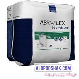 پوشک بزرگسال شورتی ابری فلکس لارج جذب متوسط abriflex l1
