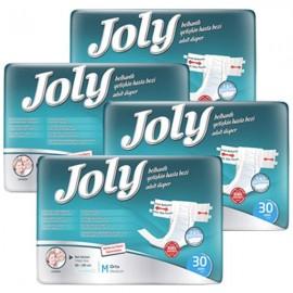 پوشک بزرگسال چسبی جولی متوسط بسته 30 عددی july medium