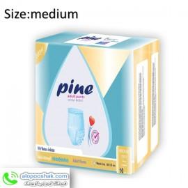 پوشک بزرگسال شورتی پاین سایزمدیوم pine medium